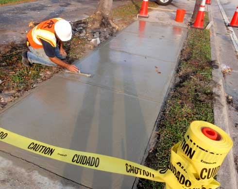 Crystal Springs Florida  Pavement Markings Striping Road Bridge Maintenance