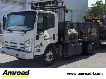 Davie Amroad Florida Pavement Striping Markings Vertical Signs Road Bridge Maintenance Repair Asphalt Patching Crack Sealing Florida